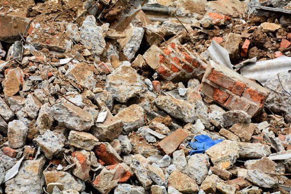 Odvoz gradbenega odpadka